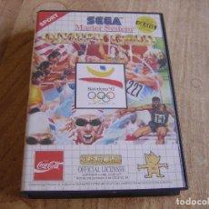 Videojuegos y Consolas: SEGA MASTER SYSTEM. OLYMPIC GOLD.. Lote 262445070