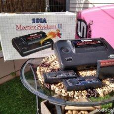 Videojuegos y Consolas: MASTER SYSTEM II 2 DE SEGA Y JUEGOS SUELTOS. Lote 262529625