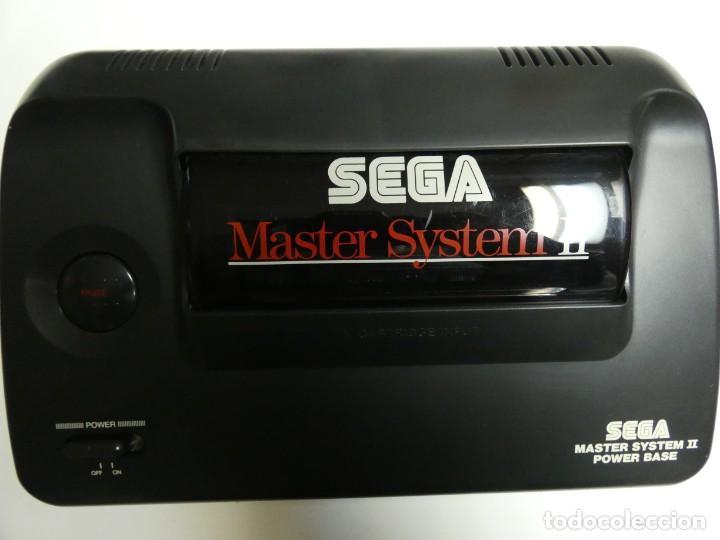 CONSOLA SEGA MASTER SISTEM 2 +MANDO , CABLES Y JUEGO SONIC THE HEDGEHOG (Juguetes - Videojuegos y Consolas - Sega - Master System)