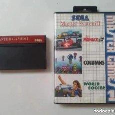 Videojuegos y Consolas: MASTER GAMES 1 MASTER SYSTEM SEGA. Lote 263233730