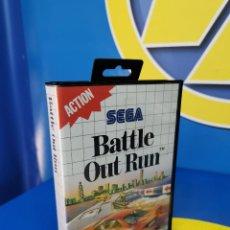 Videojuegos y Consolas: VIDEOJUEGO SEGA MASTER SYSTEM SEGA BATTLE OUT RUN 1989, SIN INSTRUCCIONES. Lote 270375773