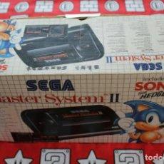 Videojuegos y Consolas: CONSOLA SEGA MASTER SYSTEM II 2 CON CAJA COMPLETA + SONIC THE HEDGEHOG. Lote 271091478