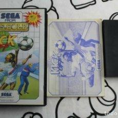 Videojuegos y Consolas: SEGA MASTER SYSTEM SUPER KICK OFF COMPLETO. Lote 271955543