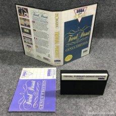 Videojuegos y Consolas: TRIVIAL PURSUIT GENUS EDITION SEGA MASTER SYSTEM. Lote 271993808