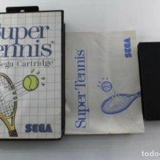 Videojuegos y Consolas: SEGA MASTER SYSTEM SUPER TENNIS COMPLETO. Lote 272921543