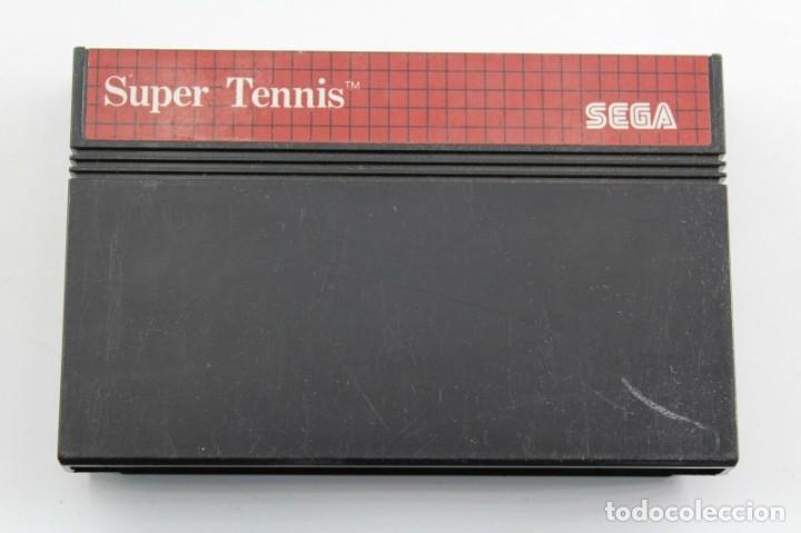 SEGA MASTER SYSTEM SUPER TENNIS SOLO CARTUCHO (Juguetes - Videojuegos y Consolas - Sega - Master System)
