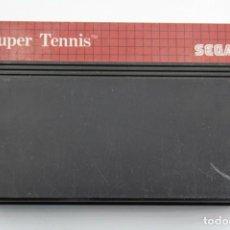 Videojuegos y Consolas: SEGA MASTER SYSTEM SUPER TENNIS SOLO CARTUCHO. Lote 272922073