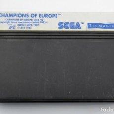 Videojuegos y Consolas: SEGA MASTER SYSTEM CHAMPIONS OF EUROPE SOLO CARTUCHO. Lote 272922178