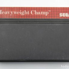 Videojuegos y Consolas: SEGA MASTER SYSTEM HEAVYWEIGHT CHAMP SOLO CARTUCHO. Lote 272922278