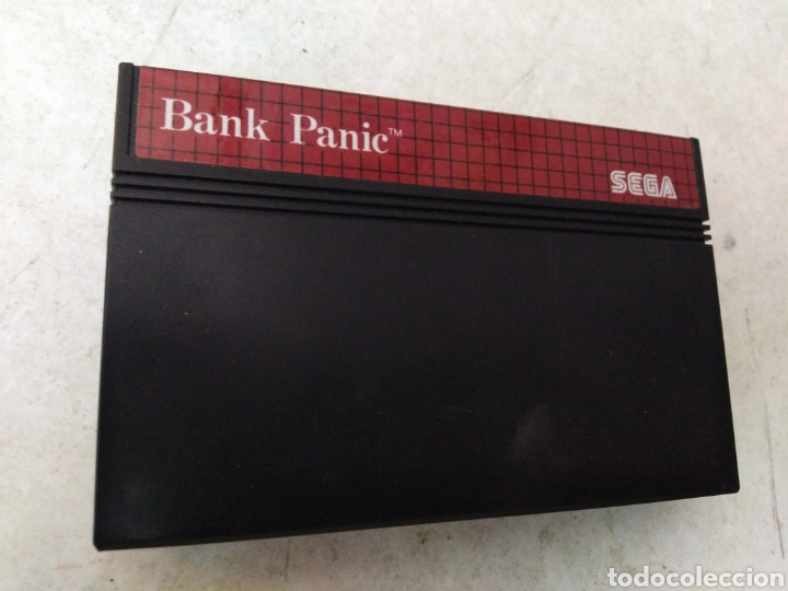 JUEGO SEGA BANK PANIC (Juguetes - Videojuegos y Consolas - Sega - Master System)