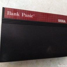 Videojuegos y Consolas: JUEGO SEGA BANK PANIC. Lote 274286658
