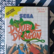 Videojuegos y Consolas: DOUBLE DRAGON - SEGA MASTER SYSTEM - COMPLETO. Lote 274682338