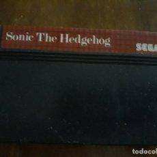 Videojuegos y Consolas: SONIC THE HEDGEHOG MEGA DRIVE CARTUCHO. Lote 274911173