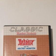 Videojuegos y Consolas: JUEGO ASTERIX SECRET MISSION SEGA MASTER SYSTEM. Lote 275210768