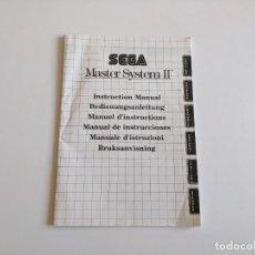 Videojuegos y Consolas: MANUAL DE INSTRUCCIONES SEGA MASTER SYSTEM. Lote 275475673