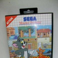 Videojuegos y Consolas: TOM AND JERRY THE MOVIE DE LA SEGA MASTER SYSTEM. Lote 276562623