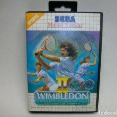 Videojuegos y Consolas: WIMBLEDON II DE LA SEGA MASTER SYSTEM. Lote 276562858