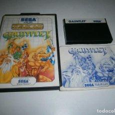 Videojuegos y Consolas: GAUNLET MASTER SYSEM PAL COMPLETO. Lote 276945428
