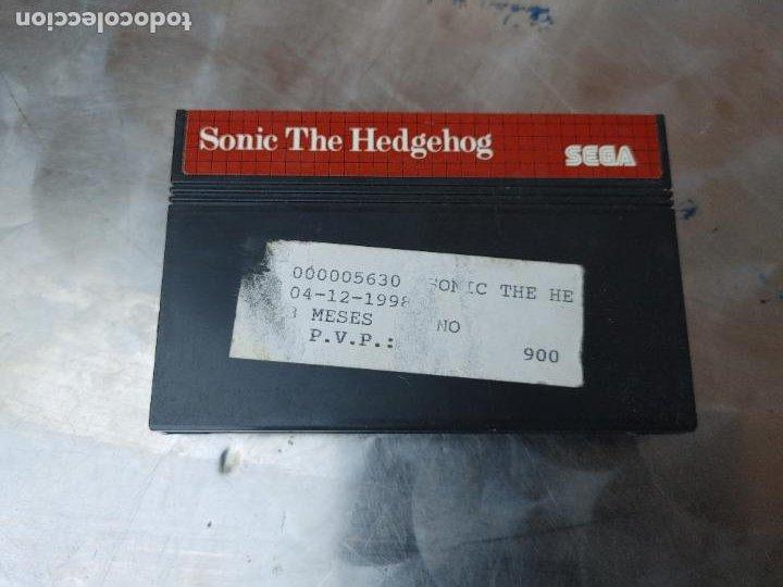 Videojuegos y Consolas: LOTE CONSOLA SEGA MASTER SYSTEM II CON 5 JUEGOS SONIC, OUT RUN, SECRET COMMAND, FANTASY ZONE Y BACK- - Foto 4 - 277700658