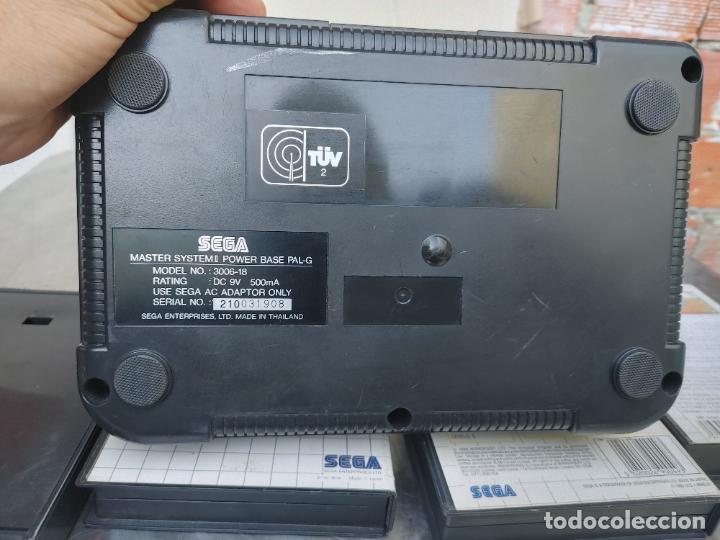 Videojuegos y Consolas: LOTE CONSOLA SEGA MASTER SYSTEM II CON 5 JUEGOS SONIC, OUT RUN, SECRET COMMAND, FANTASY ZONE Y BACK- - Foto 16 - 277700658
