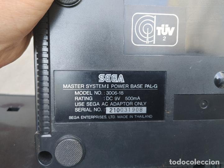 Videojuegos y Consolas: LOTE CONSOLA SEGA MASTER SYSTEM II CON 5 JUEGOS SONIC, OUT RUN, SECRET COMMAND, FANTASY ZONE Y BACK- - Foto 17 - 277700658