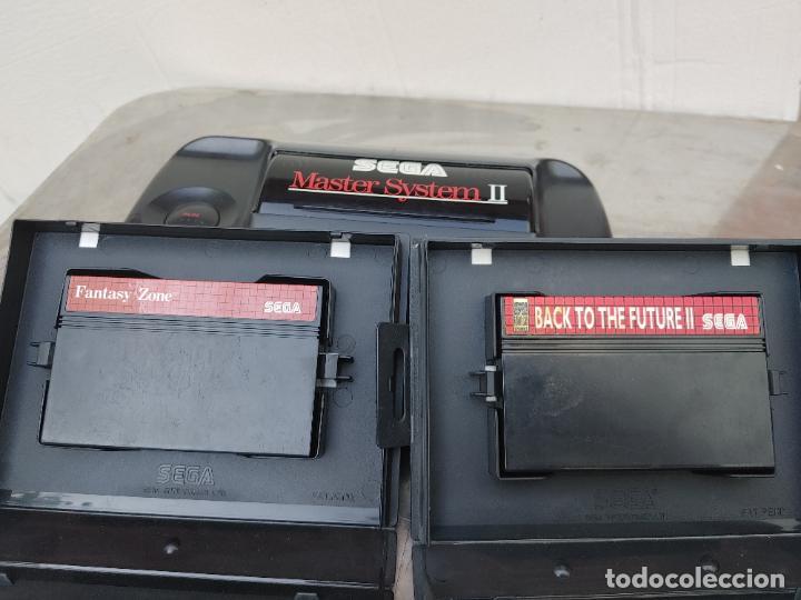 Videojuegos y Consolas: LOTE CONSOLA SEGA MASTER SYSTEM II CON 5 JUEGOS SONIC, OUT RUN, SECRET COMMAND, FANTASY ZONE Y BACK- - Foto 18 - 277700658