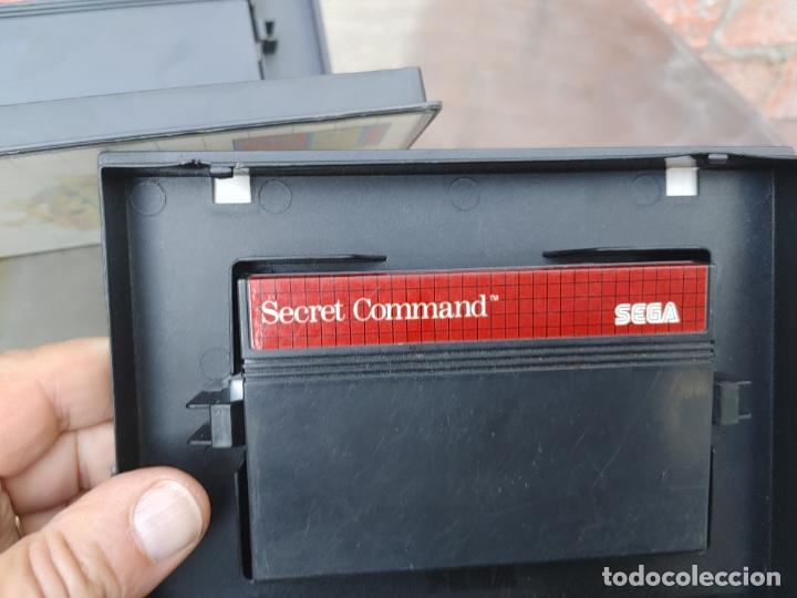 Videojuegos y Consolas: LOTE CONSOLA SEGA MASTER SYSTEM II CON 5 JUEGOS SONIC, OUT RUN, SECRET COMMAND, FANTASY ZONE Y BACK- - Foto 19 - 277700658