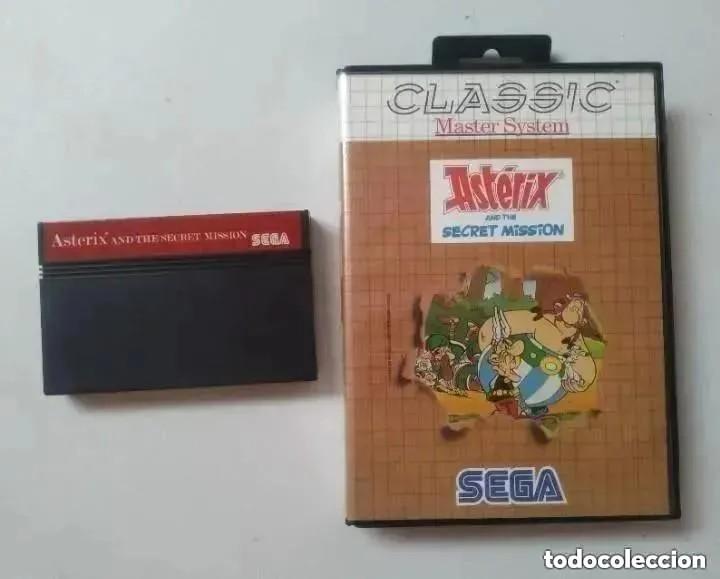 ASTERIX MASTER SYSTEM SEGA (Juguetes - Videojuegos y Consolas - Sega - Master System)