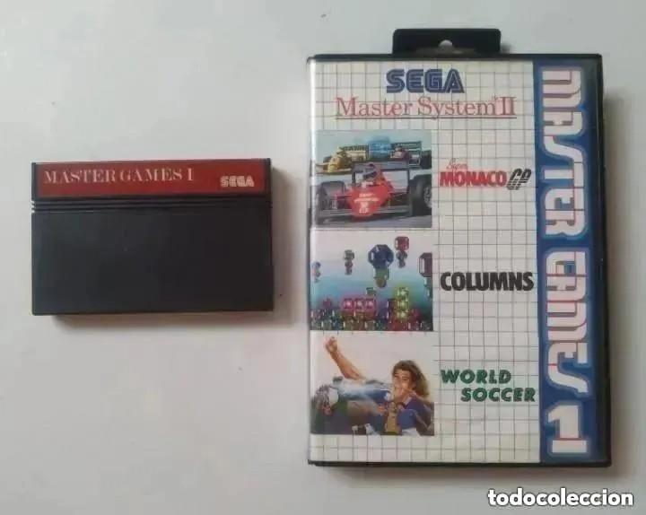MASTER GAMES 1 MASTER SYSTEM SEGA (Juguetes - Videojuegos y Consolas - Sega - Master System)