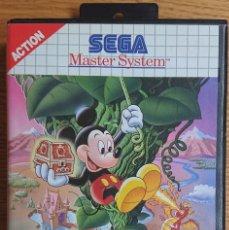Videojuegos y Consolas: LAND OF ILLUSION STARRING MICKEY MOUSE. SEGA MASTER SYSTEM. Lote 286464173