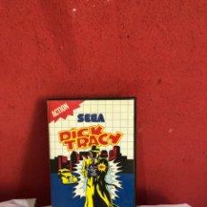 Videogiochi e Consoli: JUEGO SEGA MASTER SYSTEM DICK TRACY COMPLETO CON MANUAL . VER FOTOS. Lote 286716488