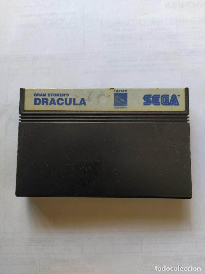 DRACULA DE BRAN STOCKER SEGA MEGADRIVE ORIGINAL 100% (Juguetes - Videojuegos y Consolas - Sega - Master System)