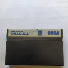 Videojuegos y Consolas: DRACULA DE BRAN STOCKER SEGA MEGADRIVE ORIGINAL 100%. Lote 286954568