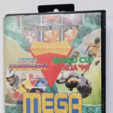 Videojuegos y Consolas: SEGA MEGA DRIVE MEGA GAMES I SUPER HANG-ON WORLD CUP ITALIA 90. Lote 287590303