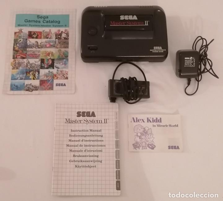 CONSOLA SEGA MASTER SYSTEM II + MANDO + MANUAL PAL (Juguetes - Videojuegos y Consolas - Sega - Master System)