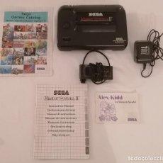 Videojuegos y Consolas: CONSOLA SEGA MASTER SYSTEM II + MANDO + MANUAL PAL. Lote 287630828