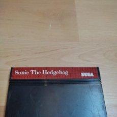 Videojuegos y Consolas: SMS SEGA MASTER SYSTEM SONIC THE HEDGEHOD. SOLO CARTUCHO.. Lote 287896318