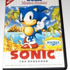 Videojuegos y Consolas: JUEGO SEGA MASTERSYSTEM SONIC 1 NUEVO. Lote 288095653