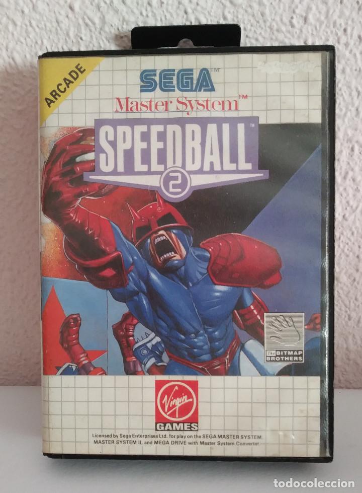 SPEED BALL 2 MASTER SYSTEM (Juguetes - Videojuegos y Consolas - Sega - Master System)
