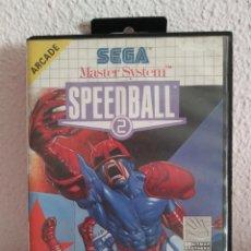 Videojuegos y Consolas: SPEED BALL 2 MASTER SYSTEM. Lote 288212673