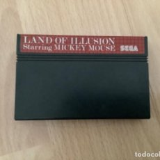 Videojuegos y Consolas: H11. LAND OF ILUSION MICKEY MOUSE MASTER SYSTEM. Lote 288603813