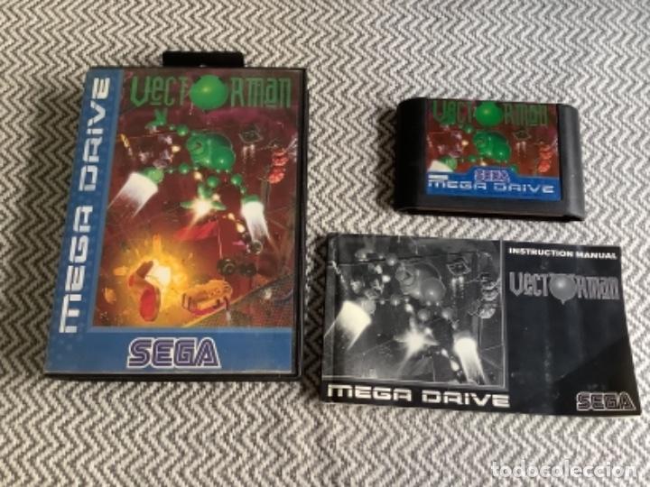 VECTORMAN. MEGADRIVE MEGA DRIVE COMPLETO (Juguetes - Videojuegos y Consolas - Sega - Master System)