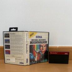Videojuegos y Consolas: MÁSTER SYSTEM MOONWALKER. Lote 289656563