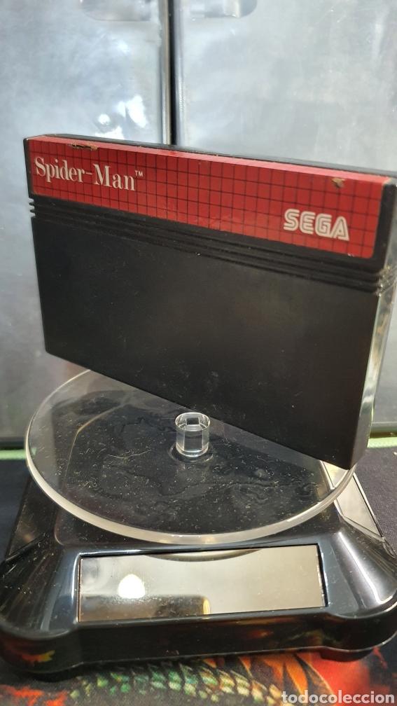 SEGA MASTER SYSTEM SPIDERMAN (Juguetes - Videojuegos y Consolas - Sega - Master System)