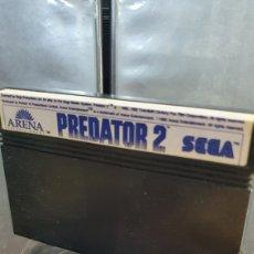 Videojuegos y Consolas: SEGA MASTER SYSTEM PREDATOR 2. Lote 289689713