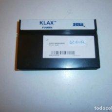 Videojuegos y Consolas: KLAX MASTER SYSTEM SOLO CARTUCHO. Lote 293504933