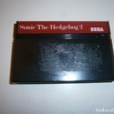 Videojuegos y Consolas: SONIC 2 THE HEDGEHOG MASTER SYSTEM SOLO CARTUCHO. Lote 293506658