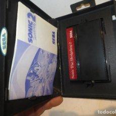 Videojuegos y Consolas: MASTER SYSTEM SONIC 2 THE HEDGEHOG MUY BUEN ESTADO,COMPLETO,BARATO. Lote 294041608