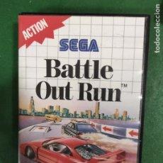 Videojuegos y Consolas: BATTLE OUT RUN OUTRUN - SEGA MASTER SYSTEM - PAL - COMPLETO. Lote 294432768