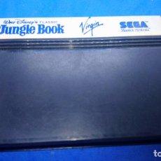 Videojuegos y Consolas: THE JUNGLE BOOK DISNEY SEGA MASTER SYSTEM. Lote 294507423